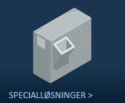 Specialløsninger/Vægskabe